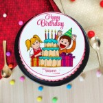 Birthday photo cakes